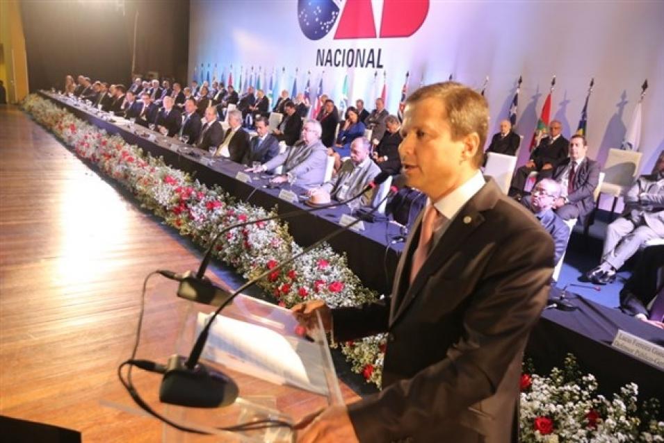 Lamachia participa da posse de novos dirigentes do TRF-1