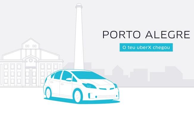 Mantida operação do Uber em Porto Alegre