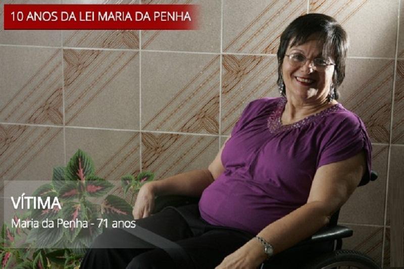 Foi a glória, diz Maria da Penha sobre criação da lei há 10 anos