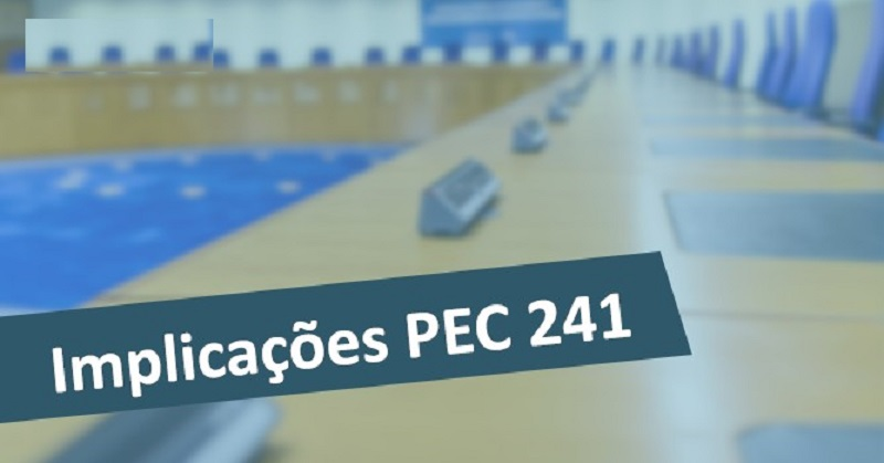 Quais implicações trazem a PEC 241?