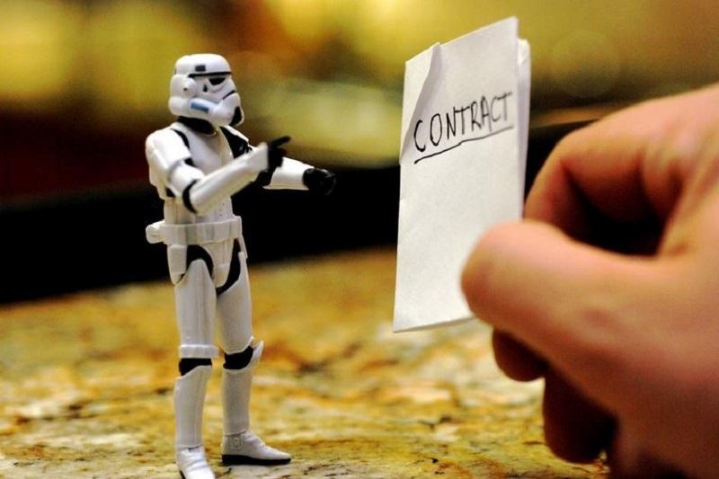 Você já assinou um contrato de adesão?