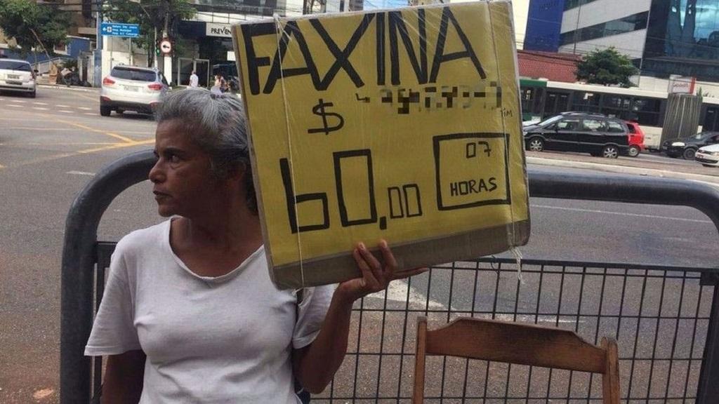 Advogada que virou faxineira em São Paulo